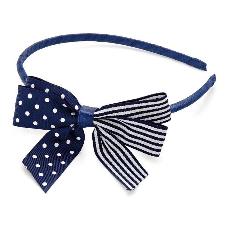 Modrá čelenka do vlasů Rina 29128 - Svět shopaholiků.cz 55b01f171c