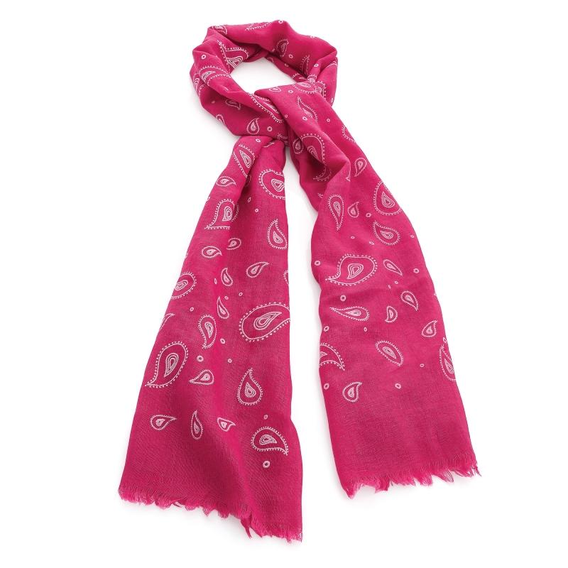 Dámský růžový šátek Cristina 30733 - Svět shopaholiků.cz e8c1f4e426