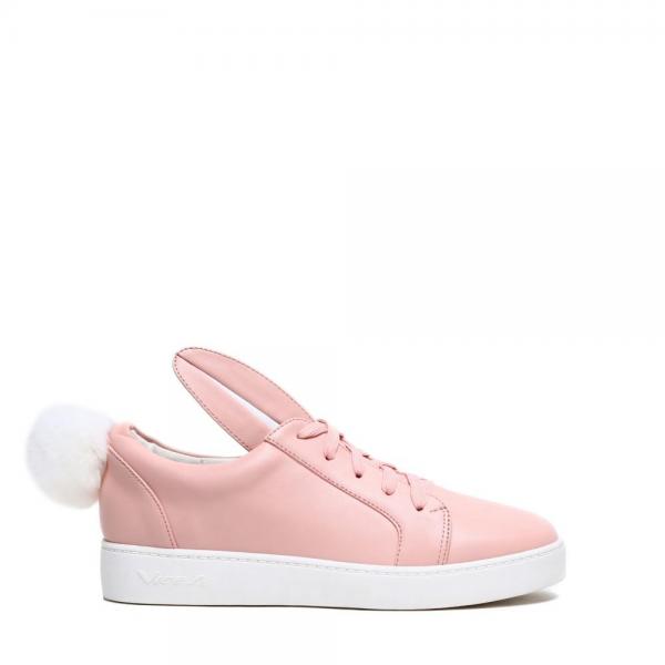 Dámské růžové tenisky Bunny 7117 - Svět shopaholiků.cz fba69635e2