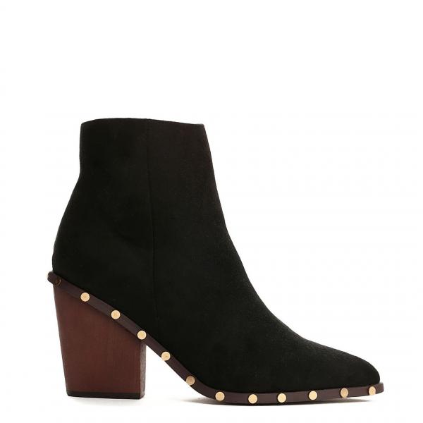Dámské černé kotníkové boty Miami 9127 - Svět shopaholiků.cz 4d6e624950