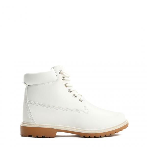 Dámské bílé kotníkové boty Petty 800 - Svět shopaholiků.cz c7895d95e0