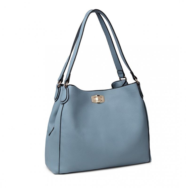 Dámská modrá kabelka Angela 1753 - Svět shopaholiků.cz 30e2261cad9