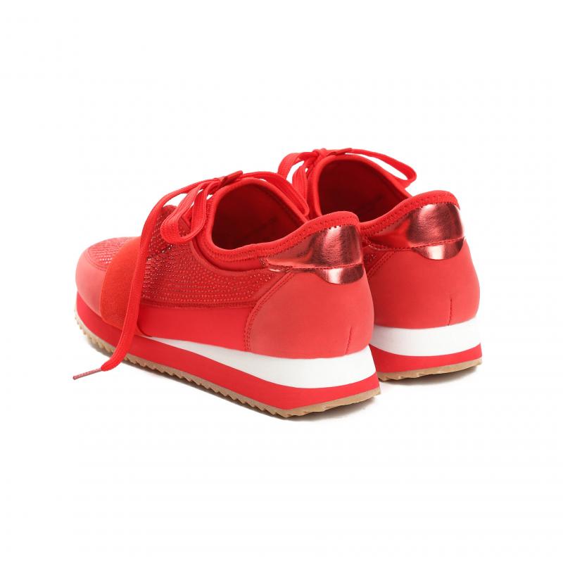 Dámské červené tenisky Chia 8358 - Svět shopaholiků.cz 7d30a997f1