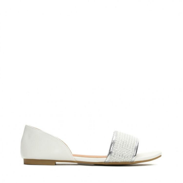 Dámské bílé sandály Costa 7249 - Svět shopaholiků.cz 5361986302