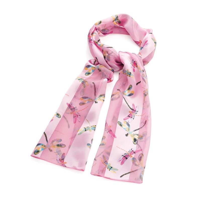 Dámský růžový šátek Marry 31853 - Svět shopaholiků.cz 36c409b7d0